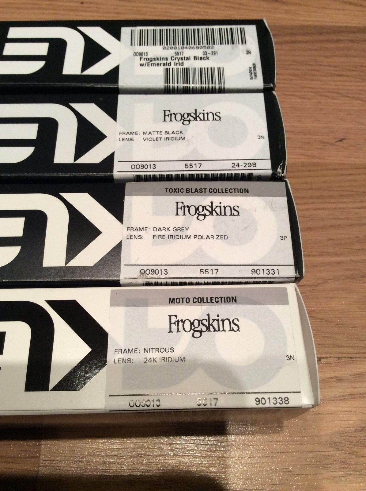 BNIB Frogskins (4) $180 shipped - image.jpg