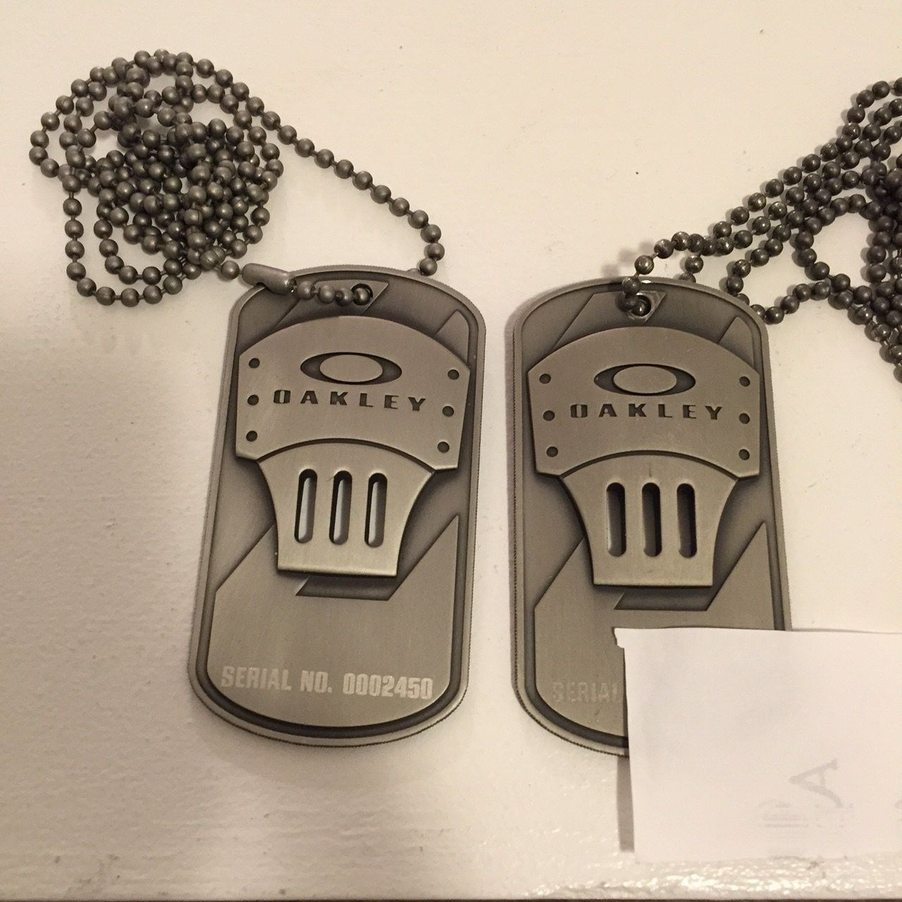 Or trade Oakley Employee Dogtag.......PRICE LOWERED - image.jpg