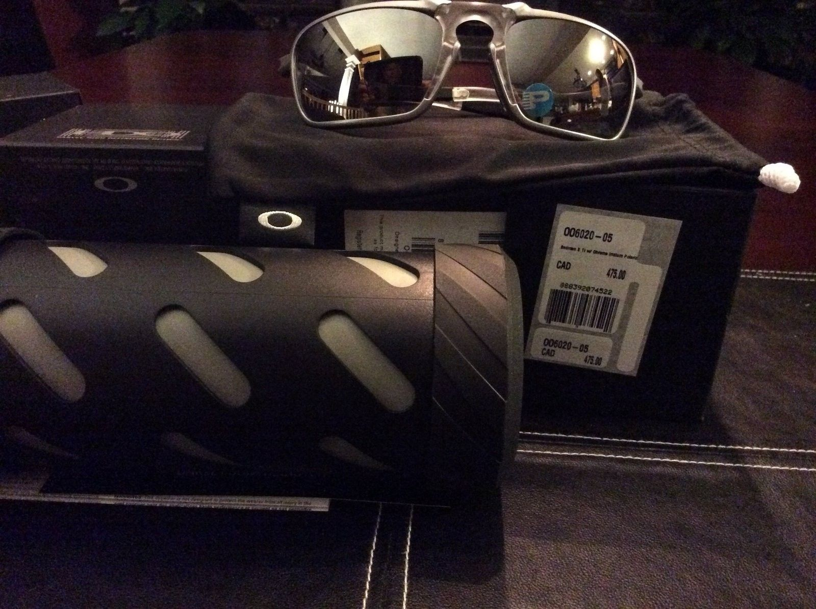 Bnib badman x-ti Chrome polarized and XS black polarized - image.jpg