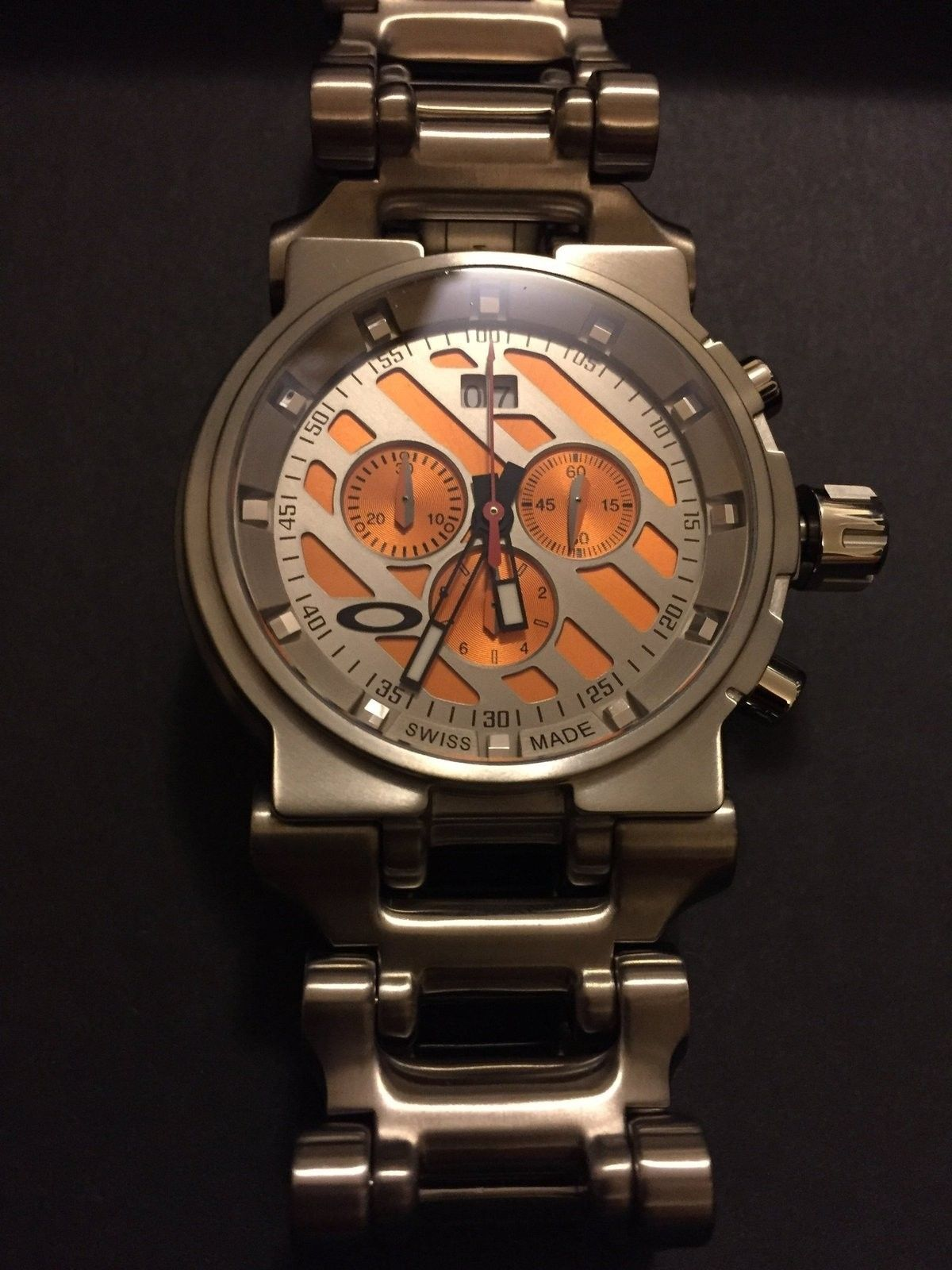 BNIB hollow point orange dial priced to sell ***SOLD - image.jpg