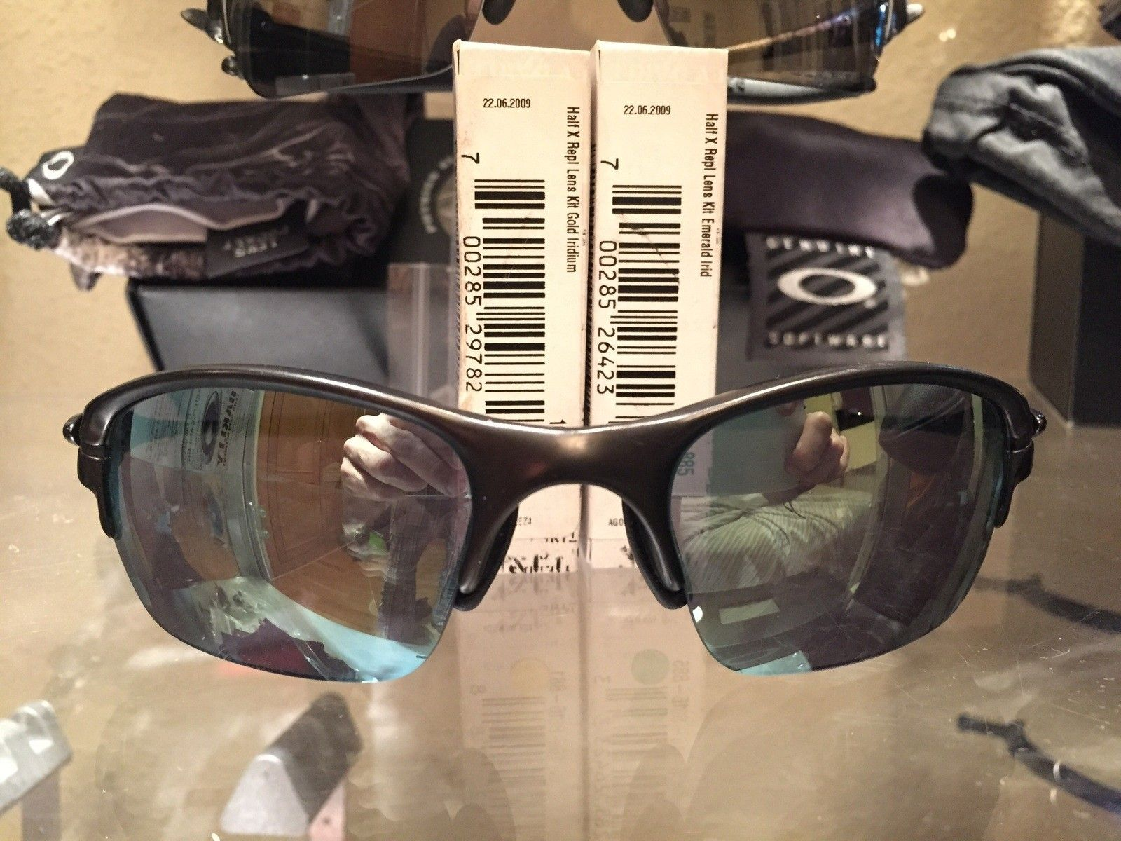 HalfX Carbon with New Gold Iridium Lenses * SOLD * - image.jpg