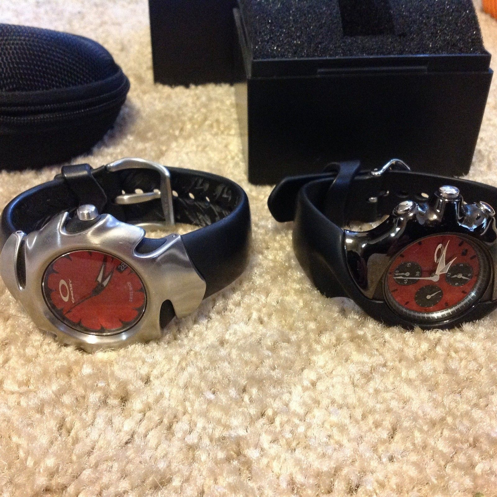 Oakley detonator and blade watches $250 shipped for both - image.jpg