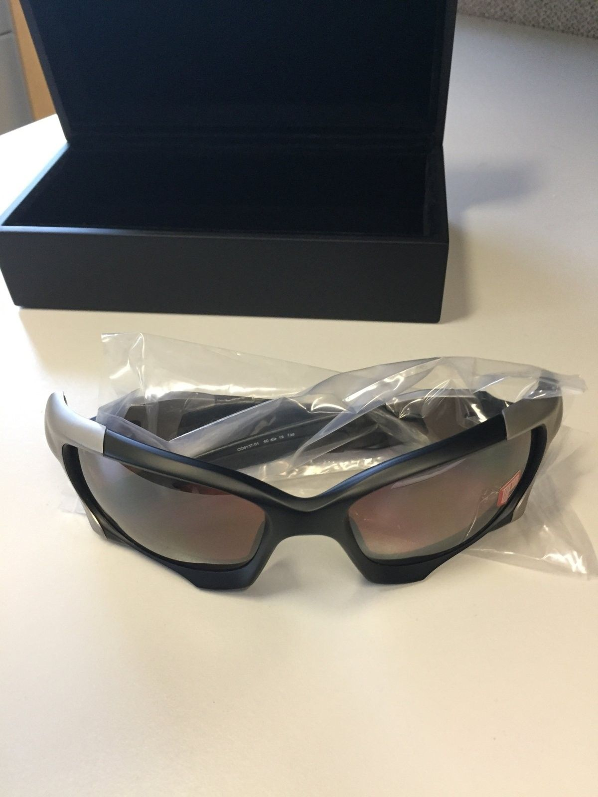 Perfect Oakley Pit Boss 2 Matte black VR28 BI Polarized $250 All In - image.jpg