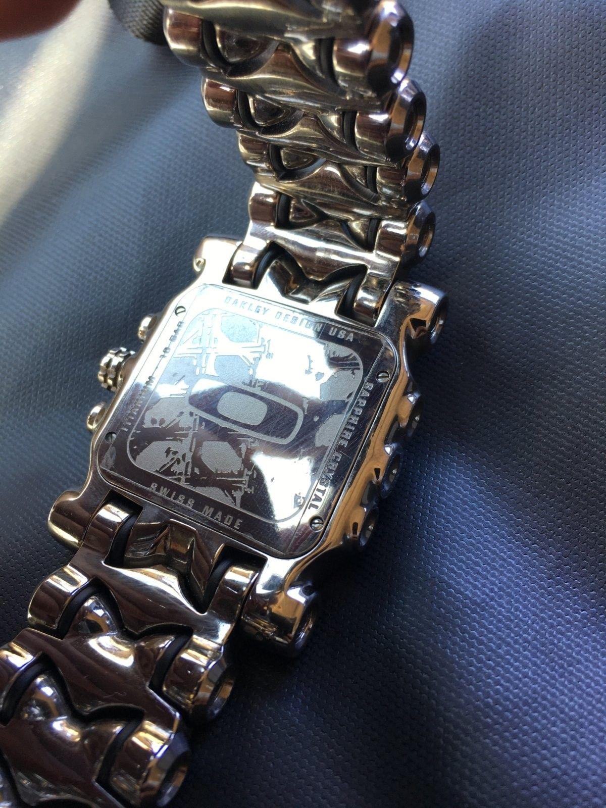Oakley polished MM watch - image.jpg