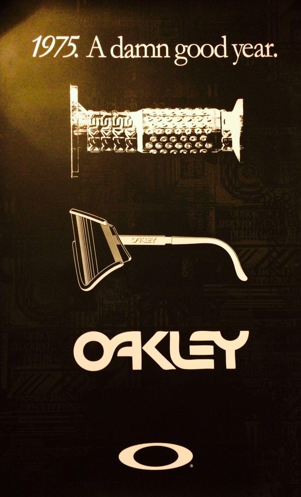 """1975. A Damn Good Year."" Oakley Eyeshades/B-1B Grips Anniversary Poster - image.jpg"