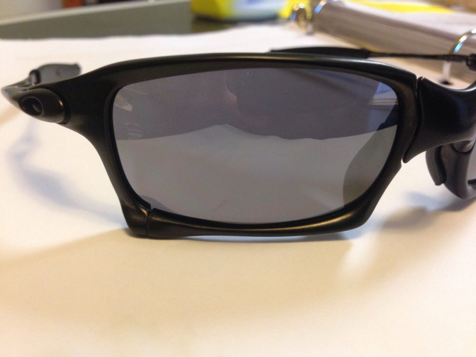 X Squared Carbon Frame Black Iridium With Coin And Extra Nose For X Squared X Metal Frame Any Lenses - image.jpg