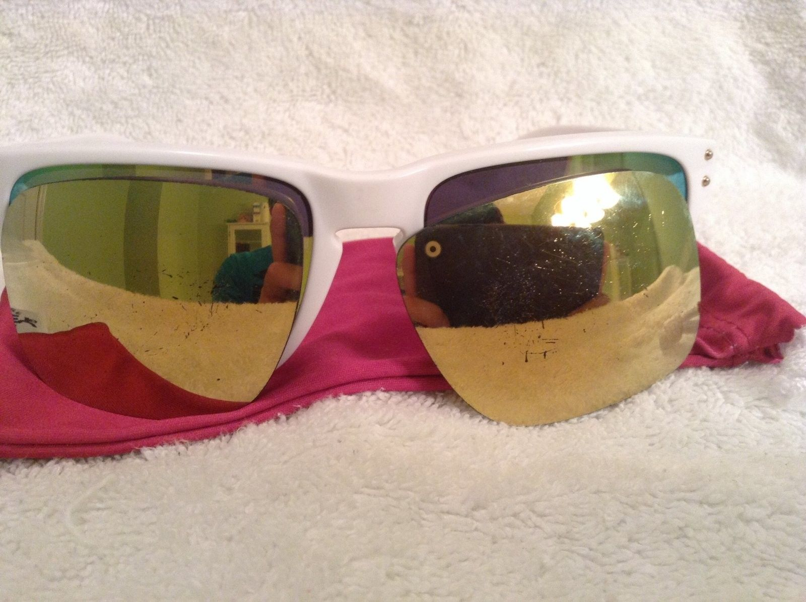 Oakley Holbrook Shaun White Special Edition 24K W/extra Lenses - image.jpg