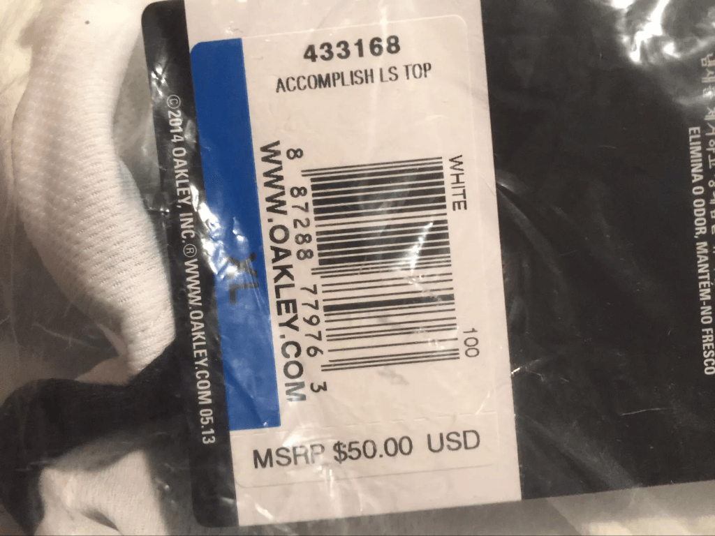 Oakley Accomplish Long Sleeve Shirt XL NIB - image.png