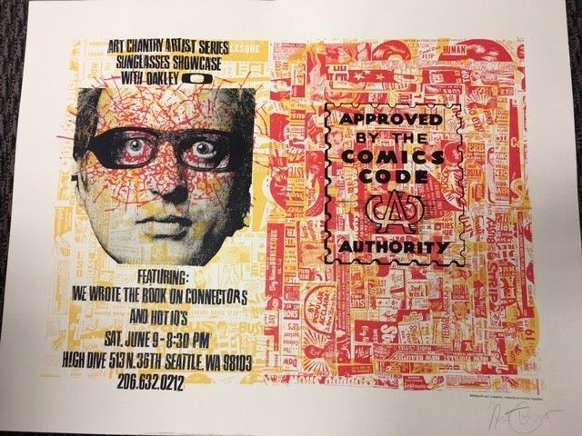 ** RARE ** LIMITED EDITION ART CHANTRY EVENT POSTER -SIGNED! - image1.JPG