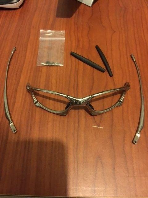 Oakley Penny Polished w/ 2 sets of lenses. BNIB Juliet Ice Iridium Lenses. - image2.JPG
