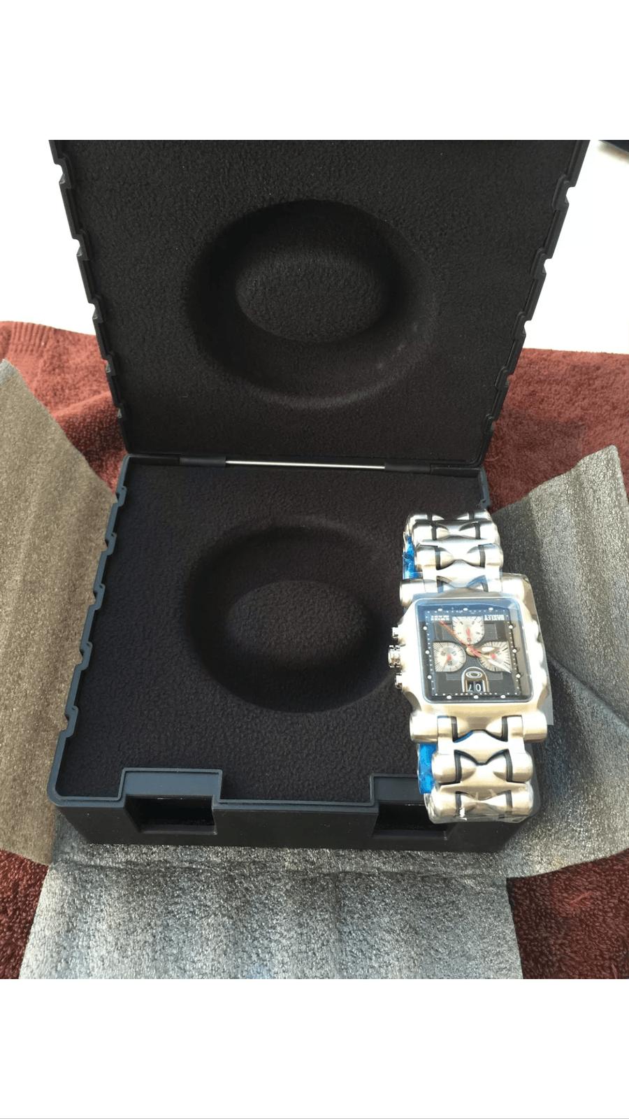Minute Machine titanium bracelet black dial SKU# 10-193 - image2.png
