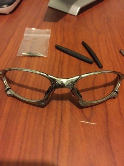 Oakley Penny Polished w/ 2 sets of lenses. BNIB Juliet Ice Iridium Lenses. - image3.JPG