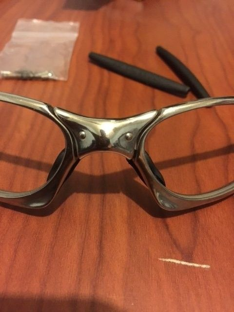 Oakley Penny Polished w/ 2 sets of lenses. BNIB Juliet Ice Iridium Lenses. - image4.JPG