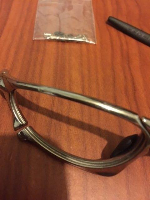 Oakley Penny Polished w/ 2 sets of lenses. BNIB Juliet Ice Iridium Lenses. - image5.JPG