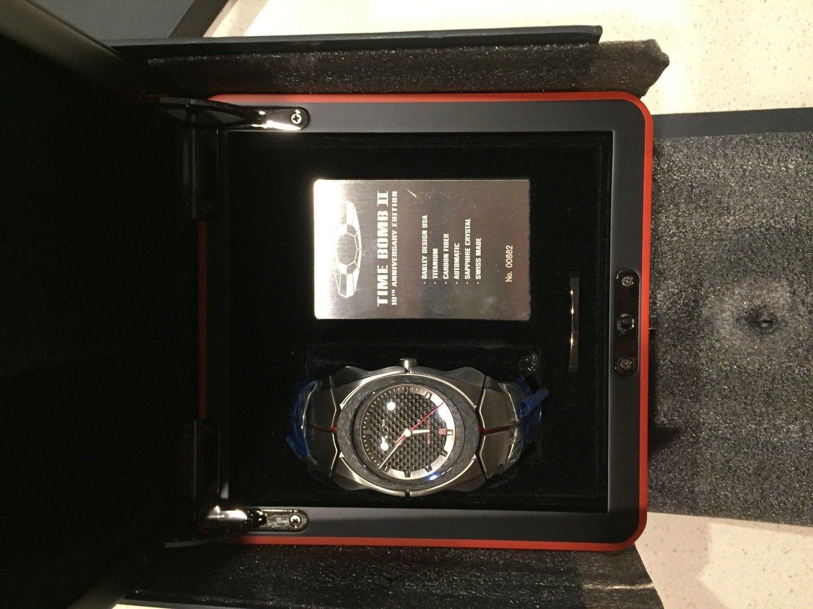 Oakley Time Bomb II 10th Anniversary Edition BNIB - image7.JPG
