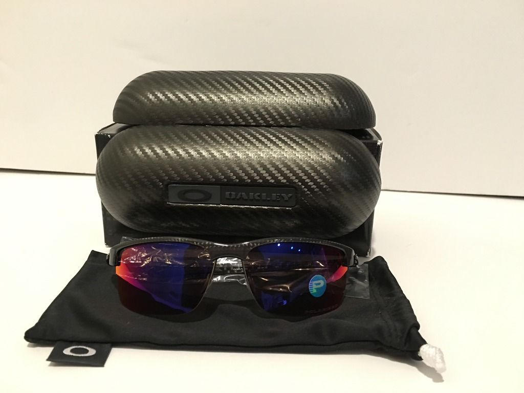 Carbon Blade- Polished Carbon/ OO Red Polarized with EXTRA--PRICE DROP - image_zpsjqkg8cys.jpe