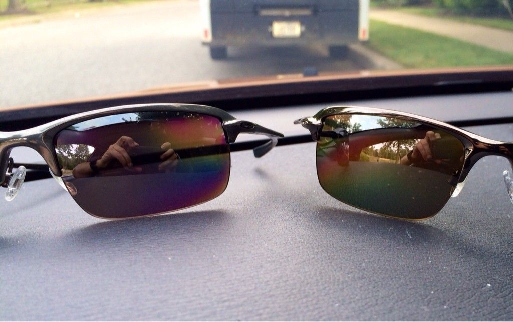 oakley 00 black iridium polarized review
