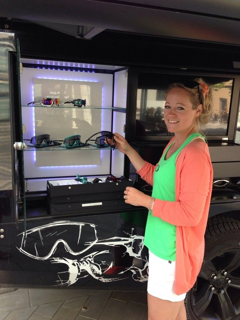 Oakley Truck In Bristol(UK) 28th June For Bristol Triathlon 29th June - ImageUploadedByTapatalk1403527705.002949.jpg