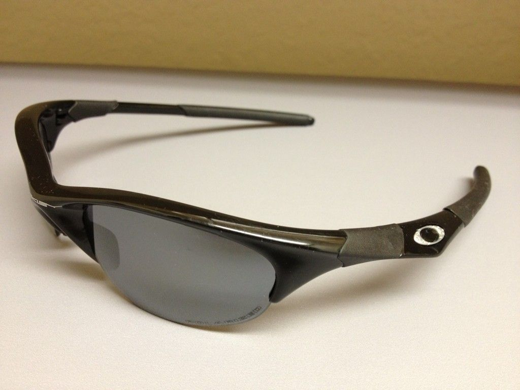 Oakley Half Jacket 1 0 Polished Black With Extras Oakley