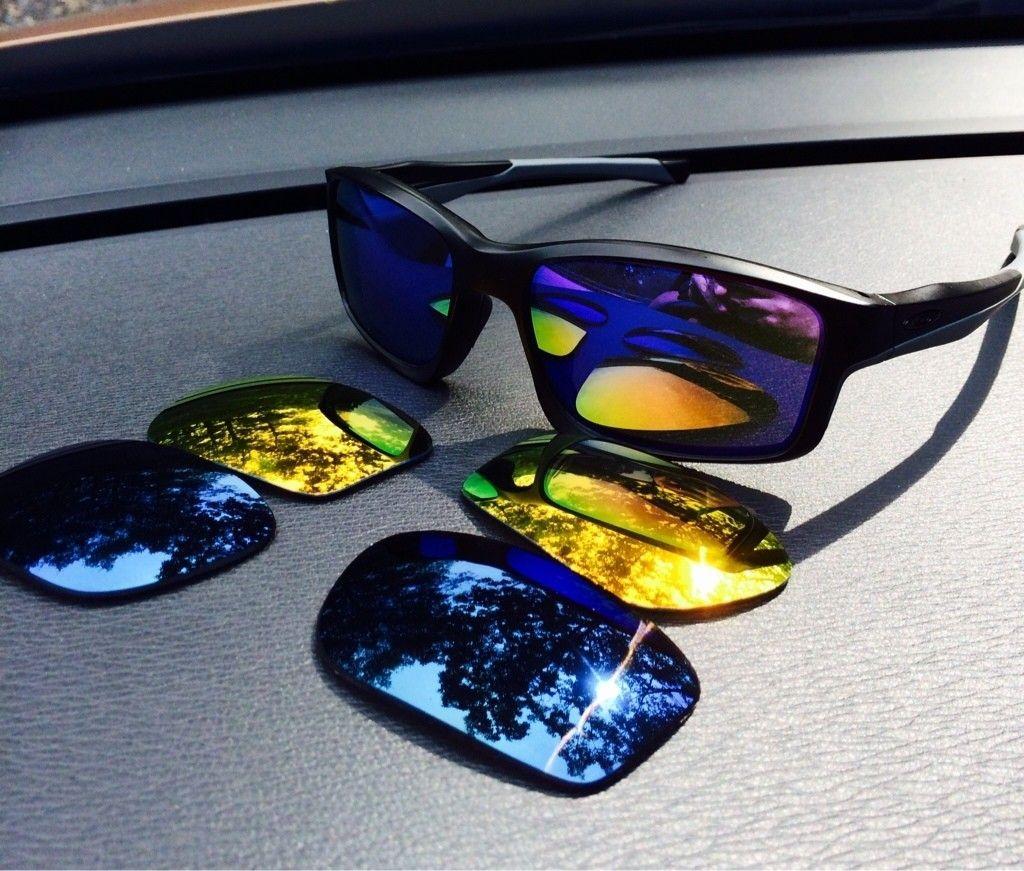 OO BIP Wiretaps // Matte Black W/Violet Chainlink //Emerald Irid Polarized Crosshair - ImageUploadedByTapatalk1406576485.145437.jpg