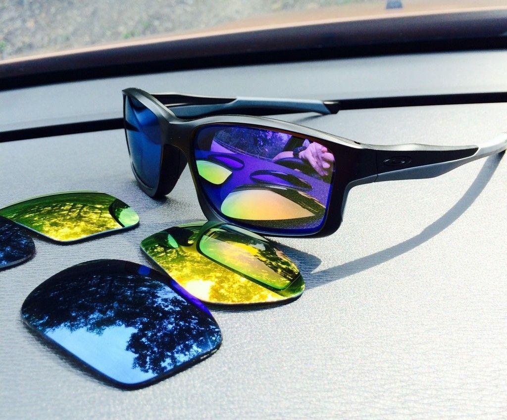OO BIP Wiretaps // Matte Black W/Violet Chainlink //Emerald Irid Polarized Crosshair - ImageUploadedByTapatalk1406576505.214360.jpg