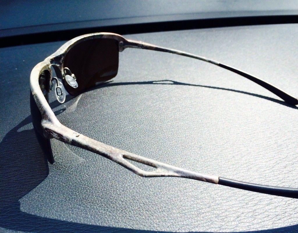 OO BIP Wiretaps // Matte Black W/Violet Chainlink //Emerald Irid Polarized Crosshair - ImageUploadedByTapatalk1406576642.940887.jpg