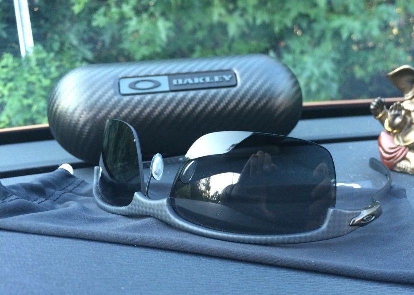 2 Pairs Of Carbon Blades - Ice Iridium With Polished Frame / Gray Polarized Matte Frame - ImageUploadedByTapatalk1410873009.494397.jpg