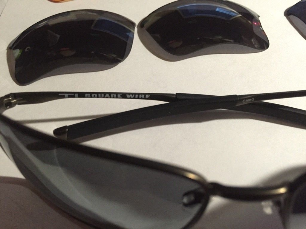 Ti Square Wire, Taper, Flak Jacket With Extra Lenses. Sold - ImageUploadedByTapatalk1413262158.442218.jpg