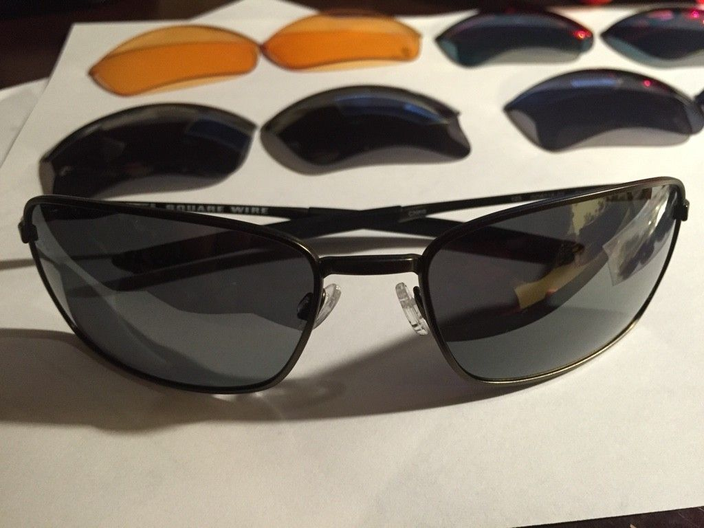 Ti Square Wire, Taper, Flak Jacket With Extra Lenses. Sold - ImageUploadedByTapatalk1413262169.896030.jpg