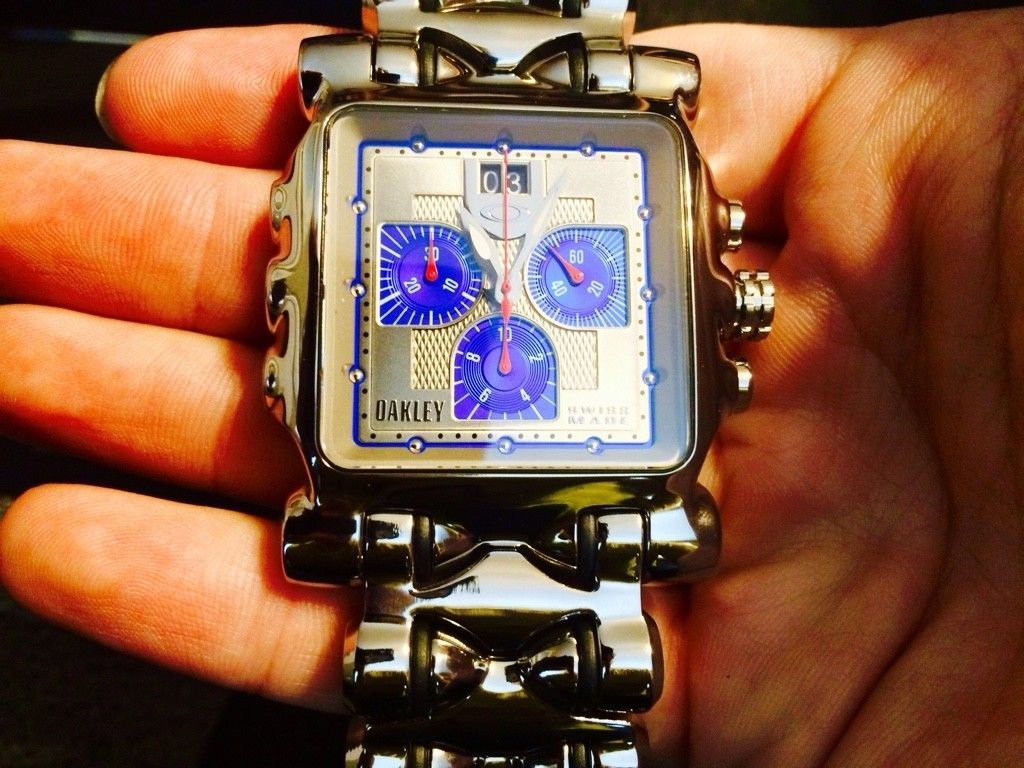 Polished MM W/ Blue Dial - ImageUploadedByTapatalk1413489144.133472.jpg