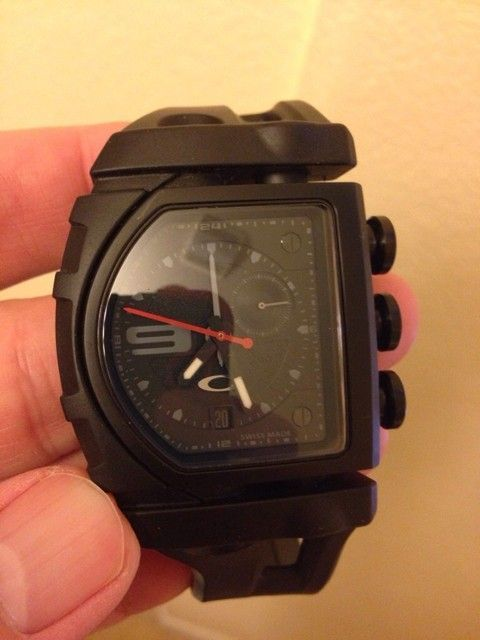 SOLD Oakley Stealth Fuse Box Watch - ImageUploadedByTapatalk1413909132.358054.jpg