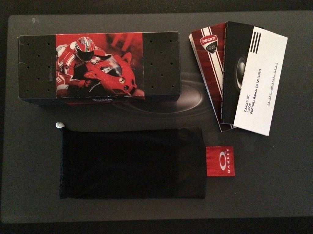 Oakley X-Metal Ducati Juliet....Low Serial....$525 - ImageUploadedByTapatalk1415732603.642086.jpg