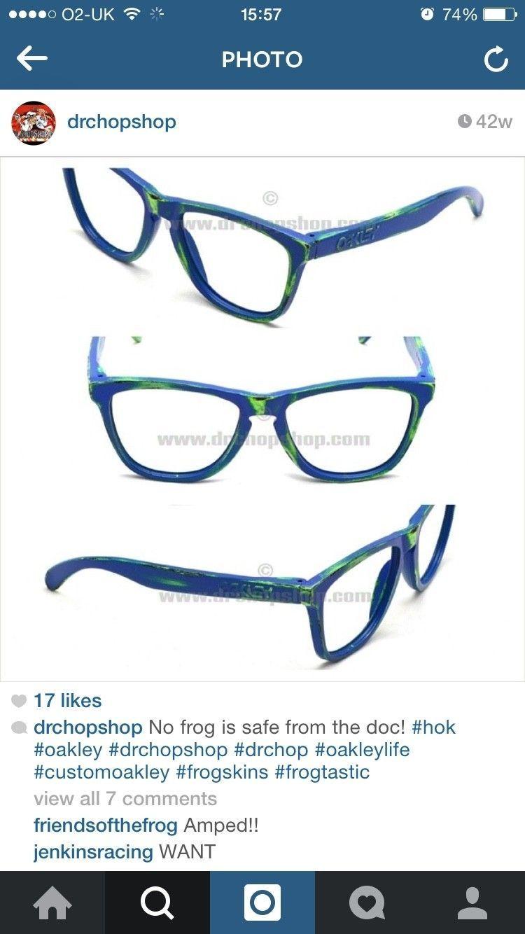 Oakley Blue/+ Red Surf Deck Frogskins? - ImageUploadedByTapatalk1415807856.656864.jpg