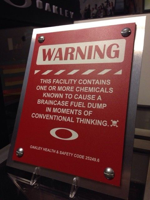 DIY Oakley Warning Sign - ImageUploadedByTapatalk1415853206.438609.jpg