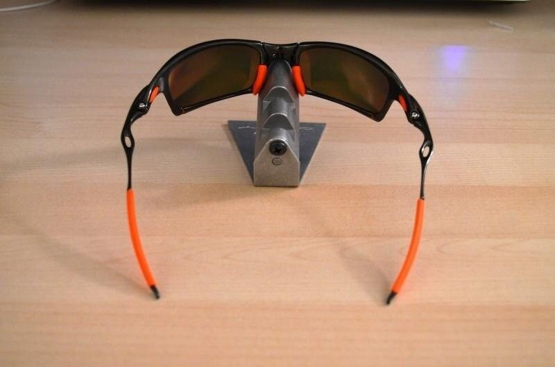 Pic request :Carbon Juliet/Fire lens with Linegear Orange rubber - ImageUploadedByTapatalk1419456438.203626.jpg