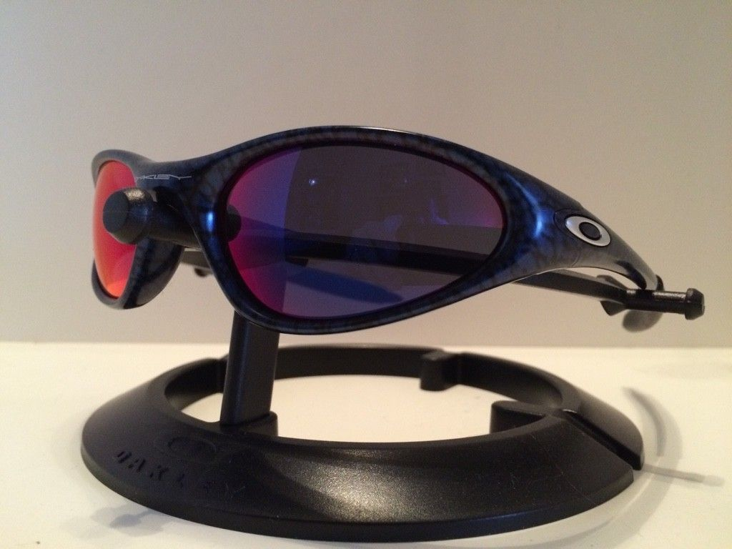 WTS:  Oakley Cobalt/Pos Red Minute   $100 - ImageUploadedByTapatalk1420336382.358584.jpg