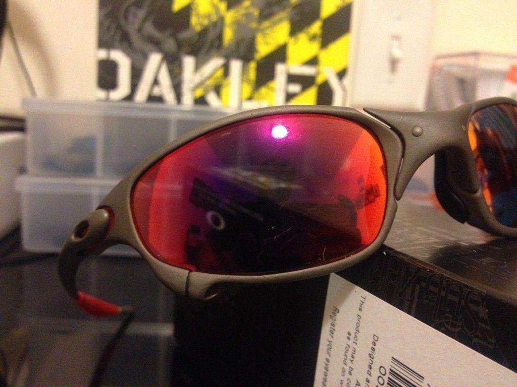a6d1c58440c Oakley Juliet Lenses Deep Ruby Red « Heritage Malta