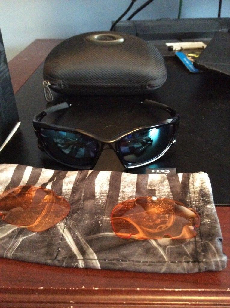 FS: Oakley split jacket polished black with jade iridium lenses - ImageUploadedByTapatalk1420999996.000949.jpg