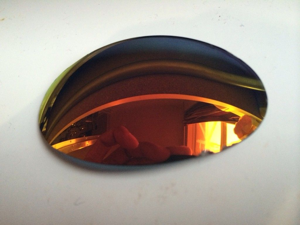 Romeo 1 lenses Ruby Polarized and red LG rubbers R1 - ImageUploadedByTapatalk1422066102.255632.jpg