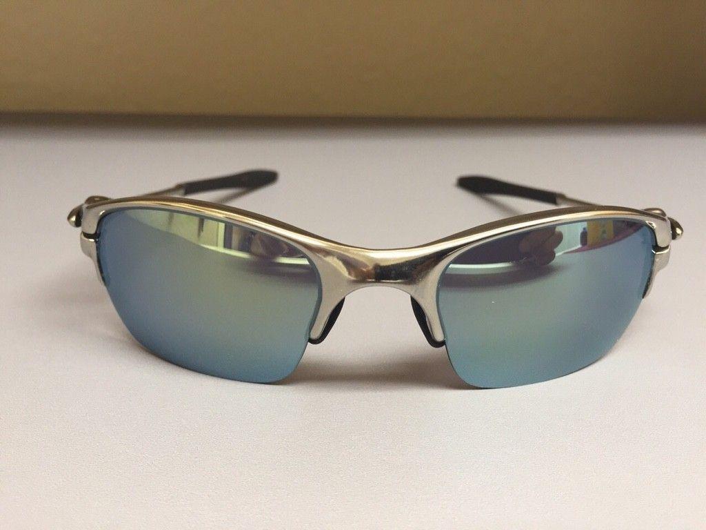 BNEW Half X Polished frame with Emerald Iridium Lenses - ImageUploadedByTapatalk1426621111.387848.jpg