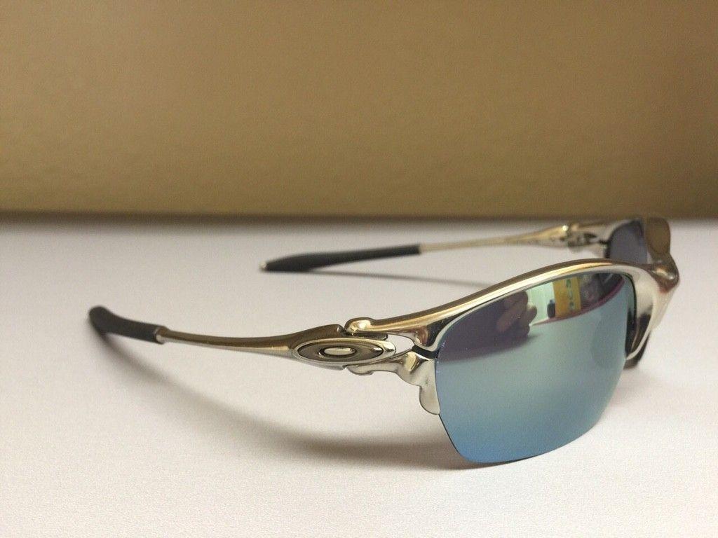 BNEW Half X Polished frame with Emerald Iridium Lenses - ImageUploadedByTapatalk1426621121.903571.jpg