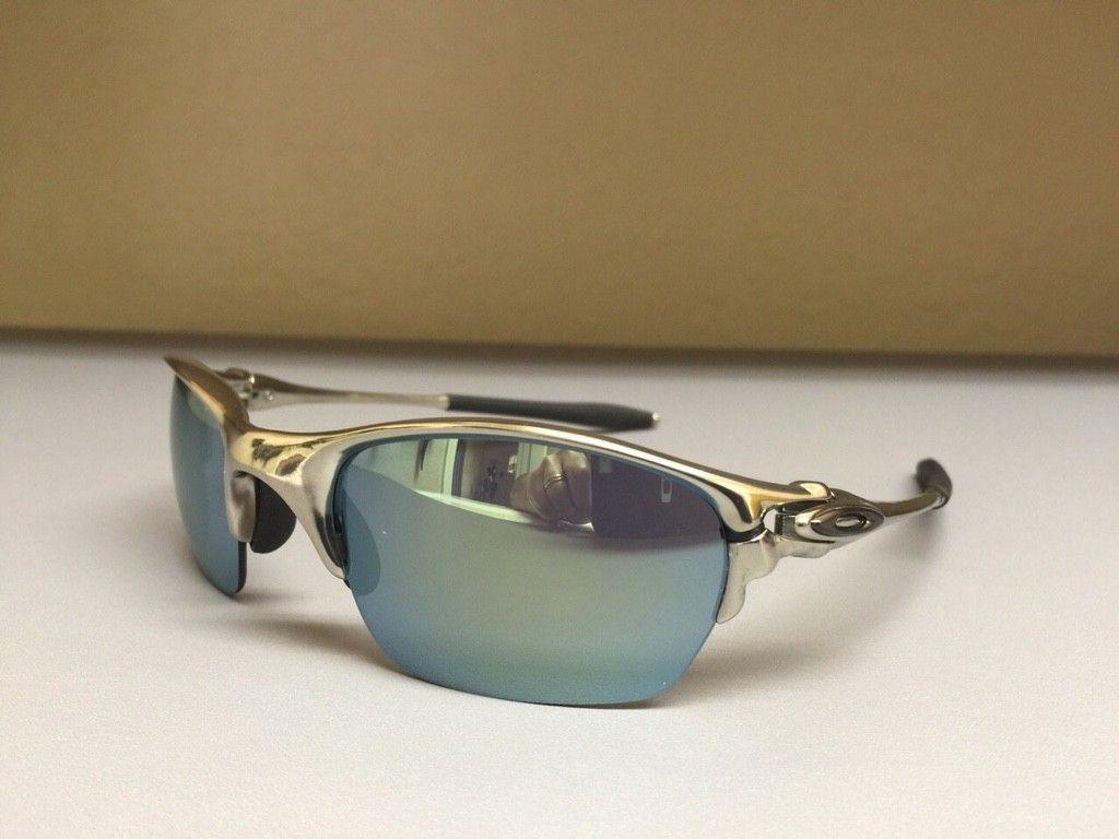 BNEW Half X Polished frame with Emerald Iridium Lenses - ImageUploadedByTapatalk1426621130.972078.jpg