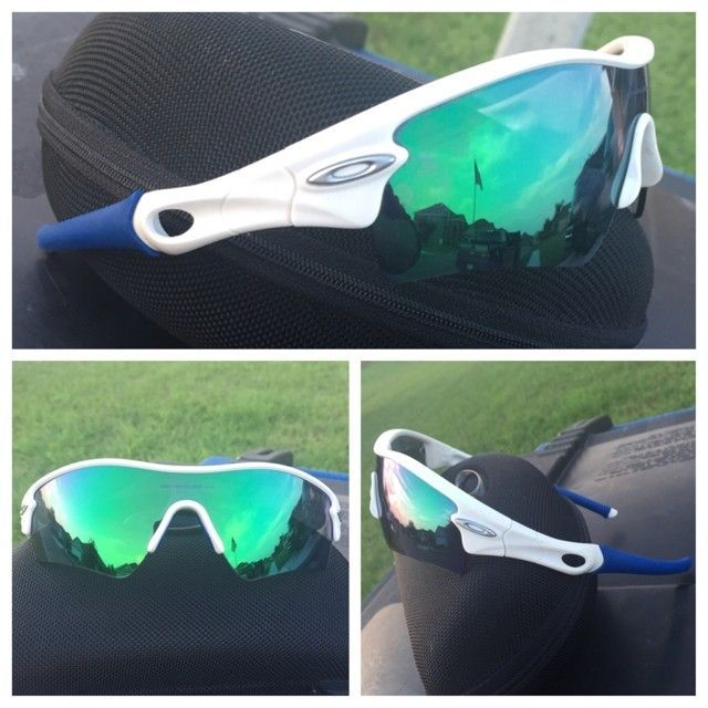 White/Jade Iridium Radars with case. $75 - ImageUploadedByTapatalk1428978540.132184.jpg