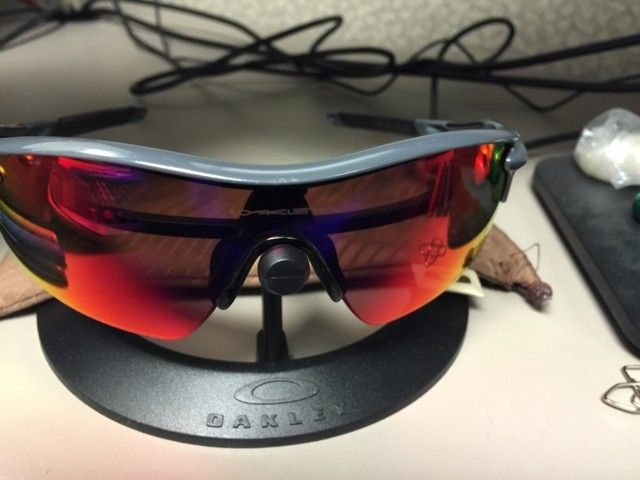 My Radarlock w/ Polarized +Red Iridium lens for your Radarlock Infrared Frame FOUND - ImageUploadedByTapatalk1433945401.121994.jpg