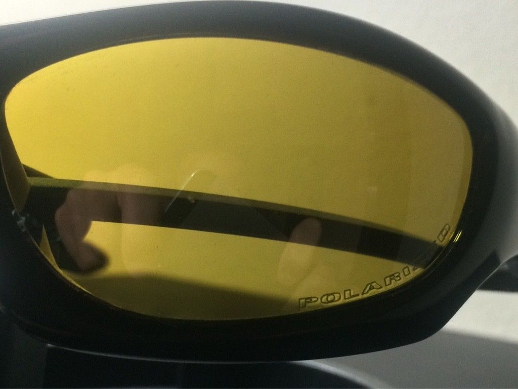 OAKLEY MONSTER DOG - AMBER BLACK POLARIZED LENSES/ POLISHED BLACK FRAME - ImageUploadedByTapatalk1438131646.752765.jpg