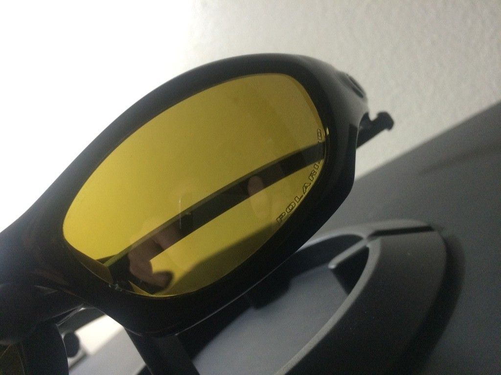 OAKLEY MONSTER DOG - AMBER BLACK POLARIZED LENSES/ POLISHED BLACK FRAME - ImageUploadedByTapatalk1438131656.602495.jpg
