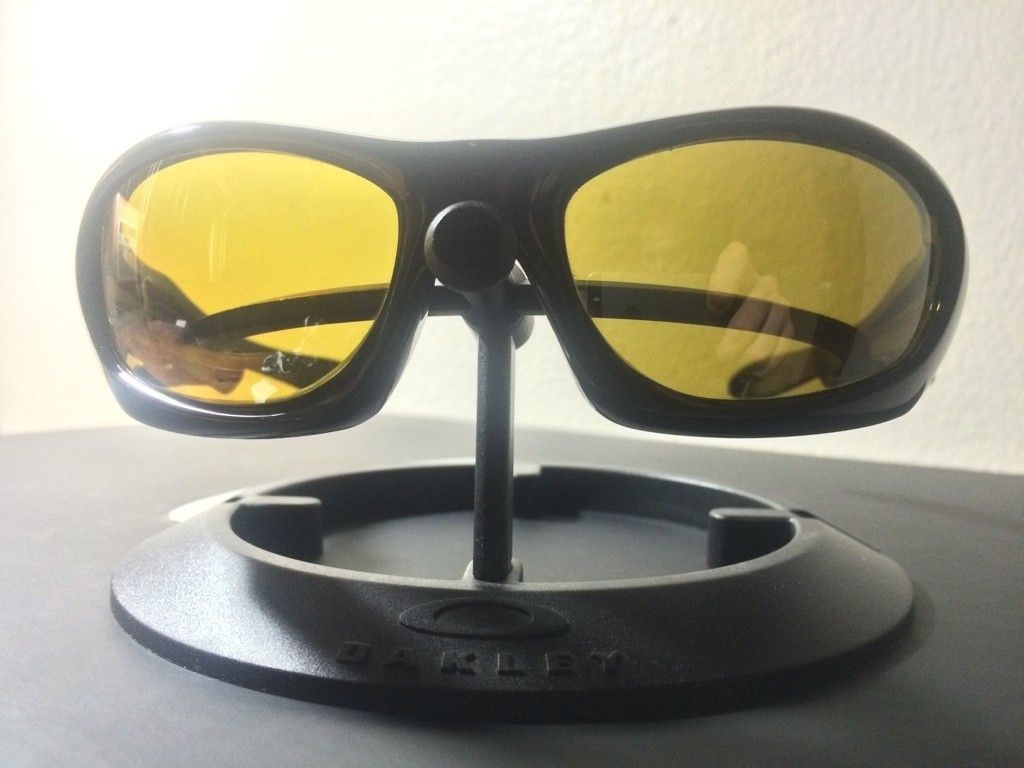 OAKLEY MONSTER DOG - AMBER BLACK POLARIZED LENSES/ POLISHED BLACK FRAME - ImageUploadedByTapatalk1438131668.606057.jpg