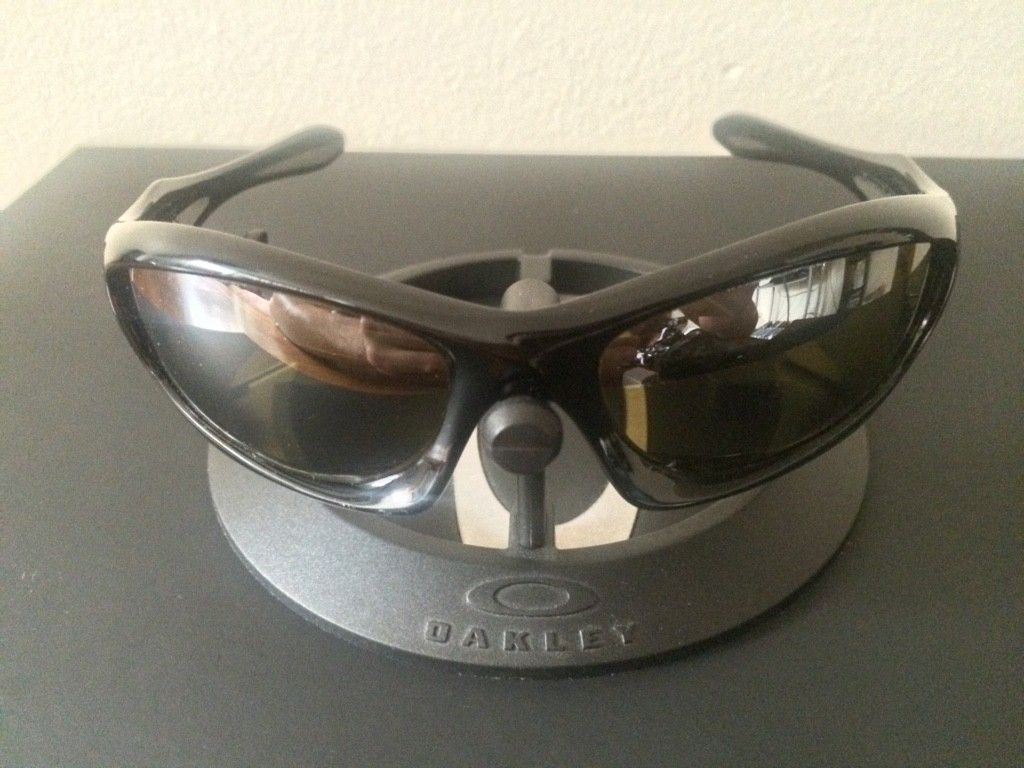 OAKLEY MONSTER DOG - AMBER BLACK POLARIZED LENSES/ POLISHED BLACK FRAME - ImageUploadedByTapatalk1438131725.927157.jpg