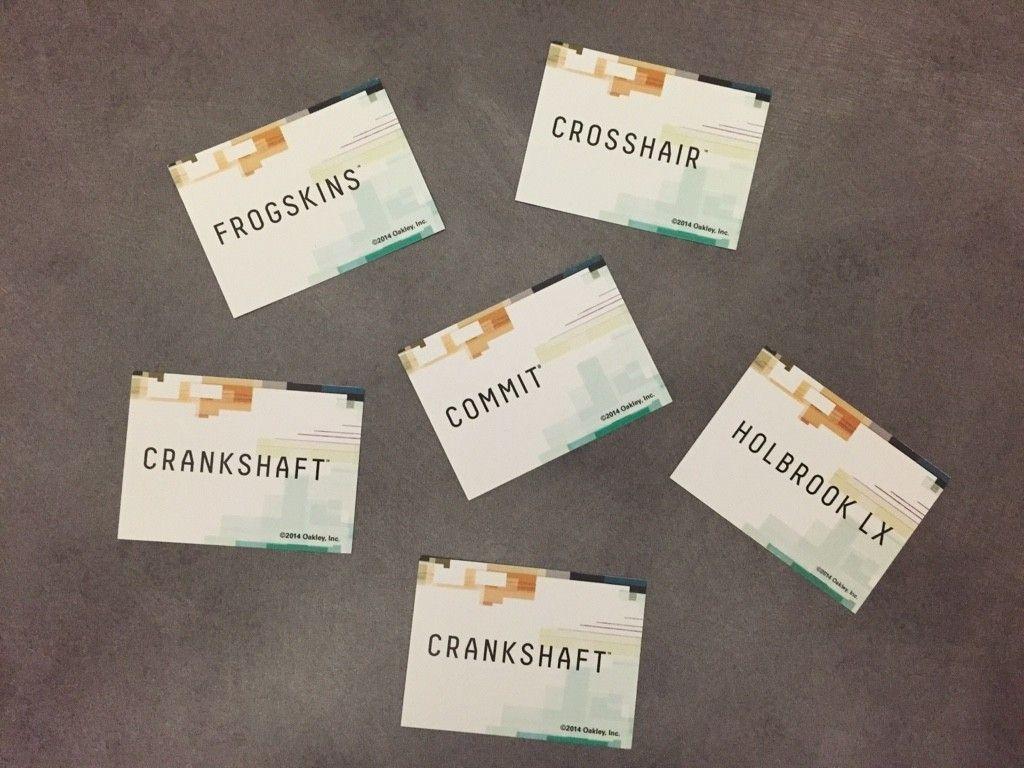 Oakley Pop Cards.......Frames - ImageUploadedByTapatalk1443659677.490820.jpg