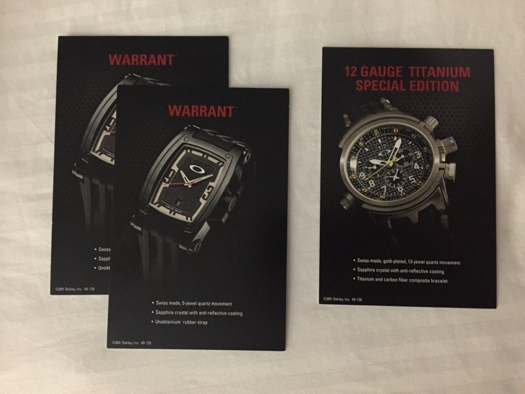 WTS:  Oakley Watch Pop Cards - ImageUploadedByTapatalk1443660089.526094.jpg